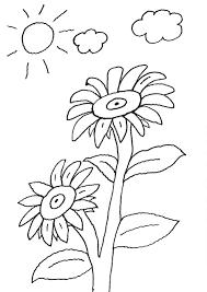 bildergebnis für sonnenblumen basteln kinder   sonnenblume basteln, malvorlagen blumen, sonnenblumen