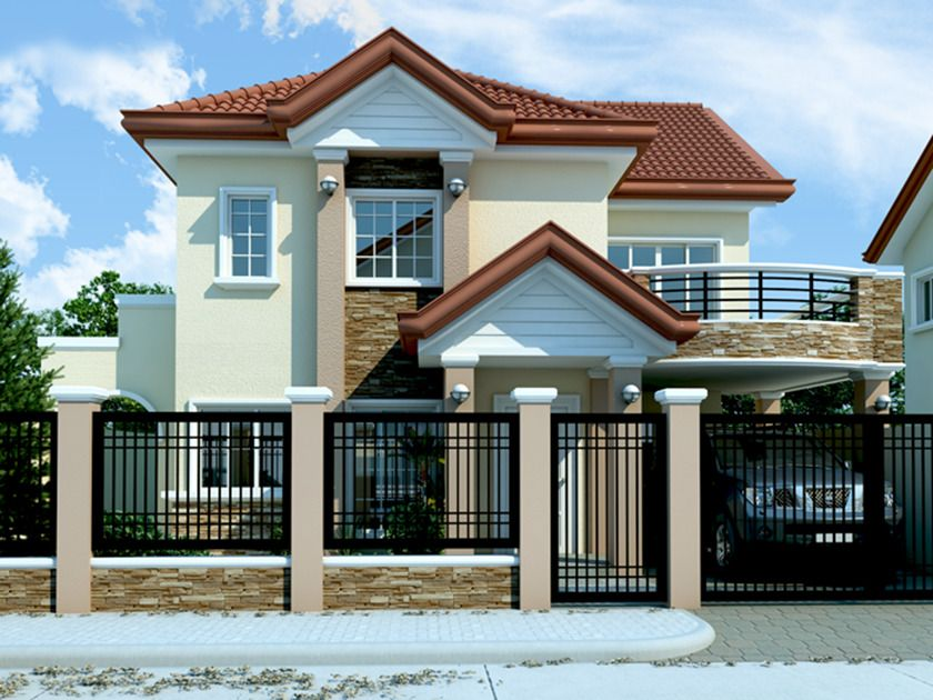 Modern House Plan 2292 Sf New Home Complete House Plan 2 Story Blueprints Or Pdf Philippines House Design 2 Storey House Design Philippine Houses