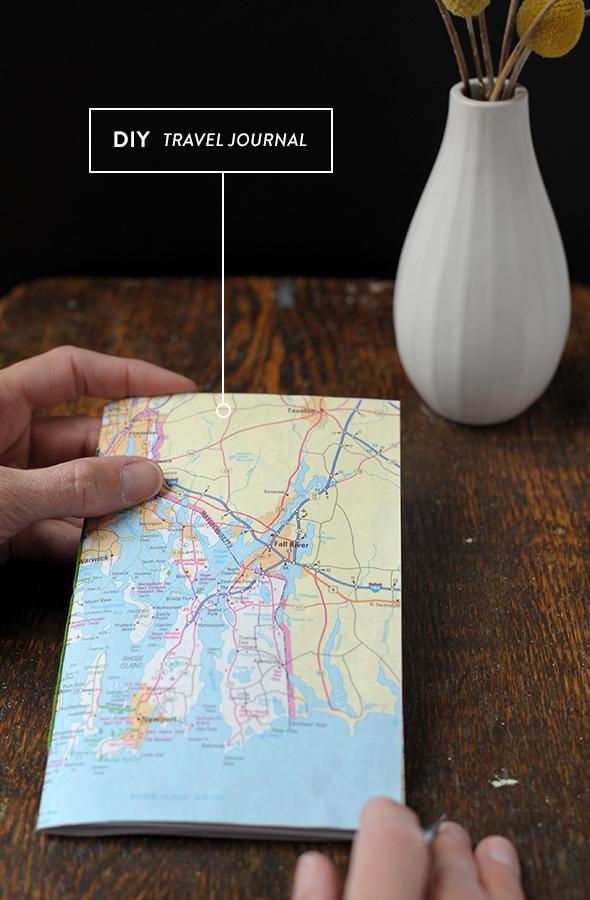 diy travel journal landkarten basteln mit herz und kleine mitbringsel. Black Bedroom Furniture Sets. Home Design Ideas