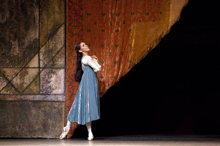Misty Copeland dances the part of Juliet in 'Romeo and Juliet.'