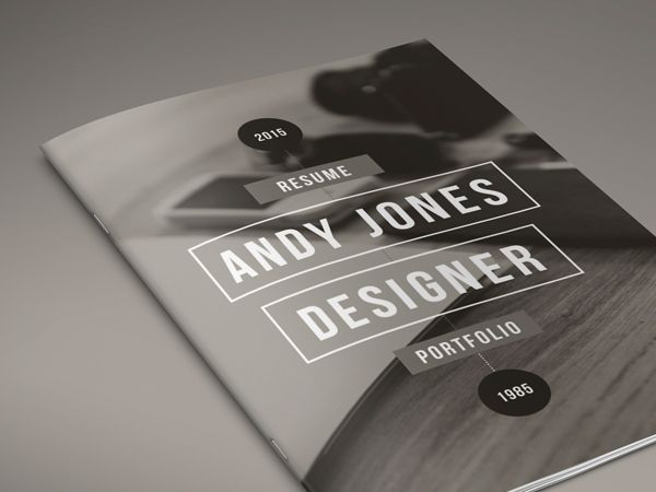 Info Resume Is A  Page Resume And Portfolio Adobe Indesign