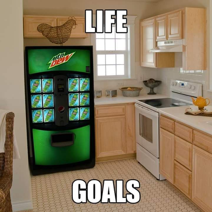 Yes! But with my favorite soda, which is not mountain dew.