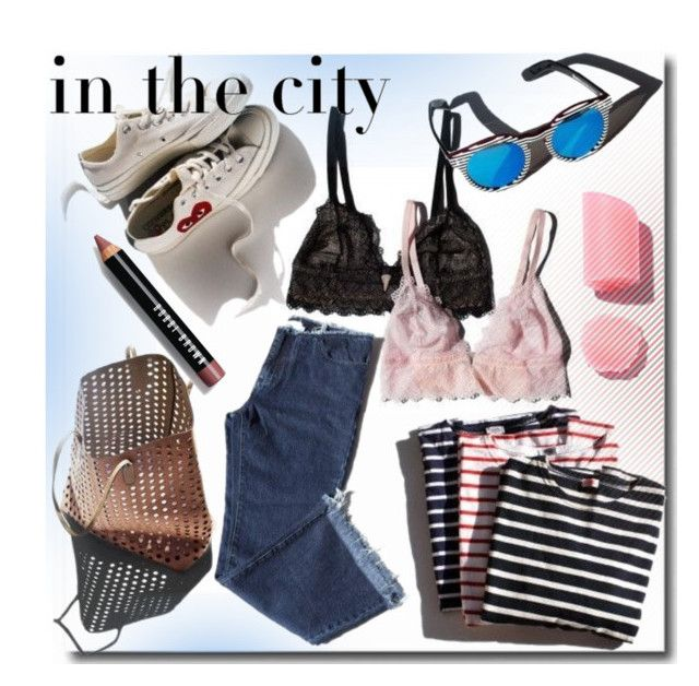 """""""Summer in the city"""" by ira-melnik ❤ liked on Polyvore featuring Bobbi Brown Cosmetics"""