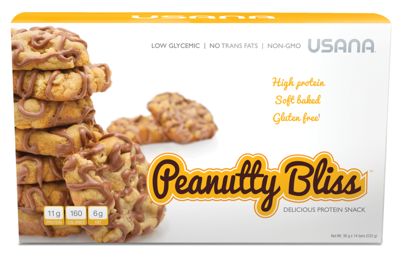 USANA Peanutty Bliss Protein Bar. Get yours today!