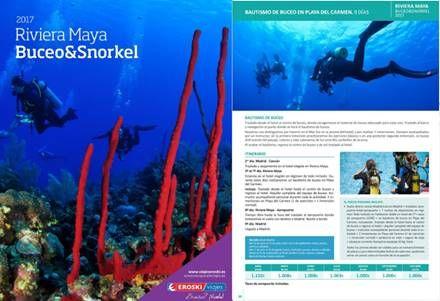 Viajes Eroski Catalogo Buceo En Riviera Maya 2017 Viajes