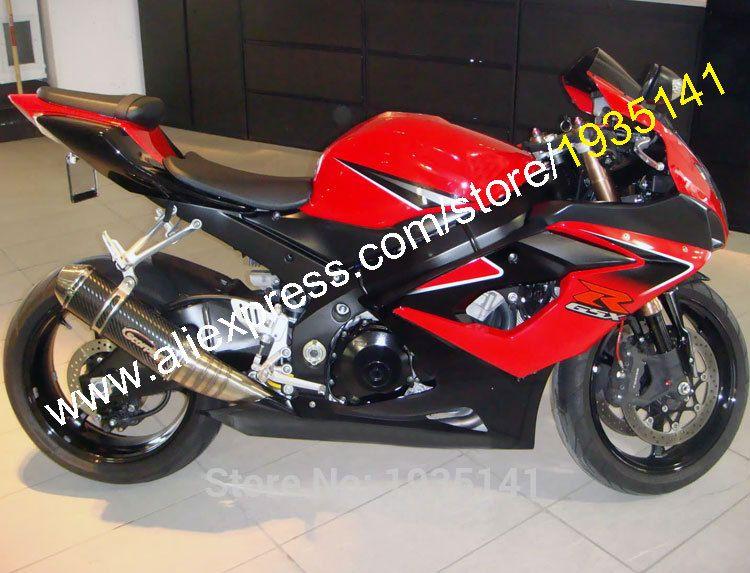 Hot Sales For Suzuki Gsx R1000 2005 2006 K5 Gsxr1000 05 06 Gsx R 1000 Red Black Customized Moto Fairing Kit Injection Molding Suzuki Gsxr1000 Gsxr 1000 Suzuki