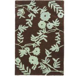 awesome Safavieh Handmade New Zealand Wool Spring Brown/ Teal Rug (2' x 3')