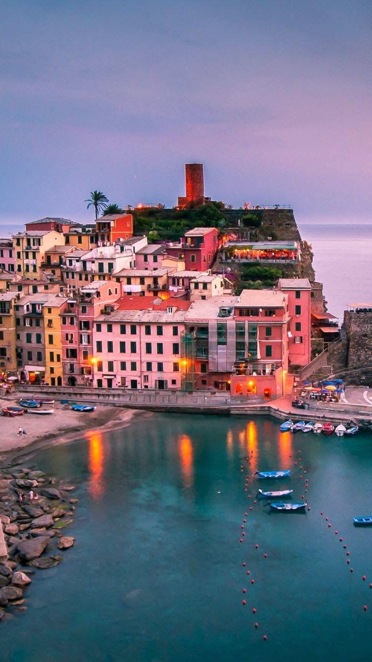 Vernazza, Cinque Terre, Liguria Italy Paesaggi, Italia