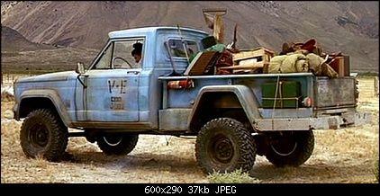 Tremors Jeep Pickup Truck
