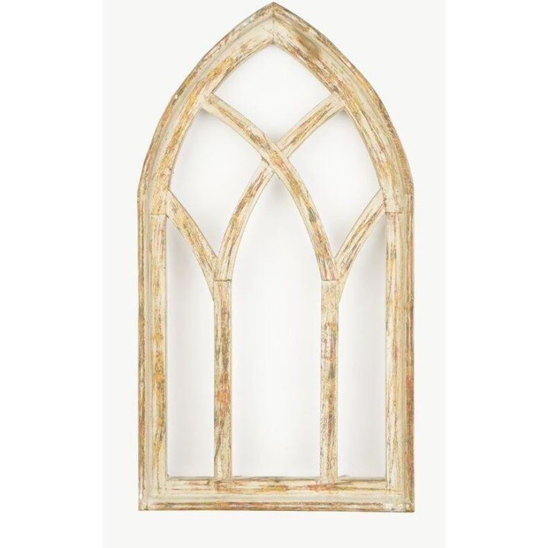 Gracie Oaks Gothic Architectural Window Wall Decor | Wayfair