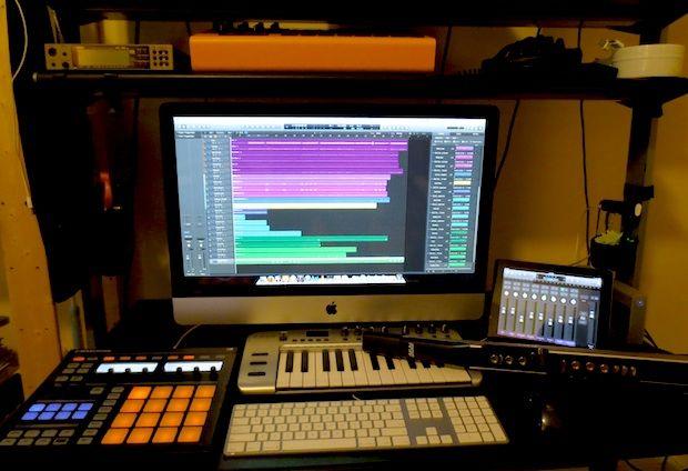 Mac Setups The Studio Of A Music