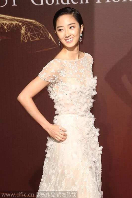 , Actress Gwei Lun-mei poses as she arrives on the red carpet for the 51st Golden Horse Awards Ceremony in Taipei, Taiwan, November 22, 2014.[Photo/IC], Hot Models Blog 2020