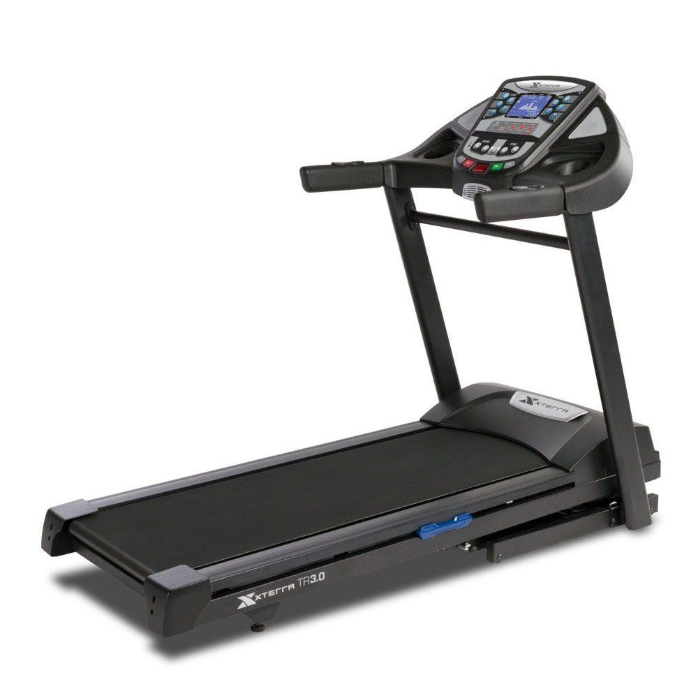 Xterra Trail Racer 3 0 Treadmill Home Workout Equipment Folding