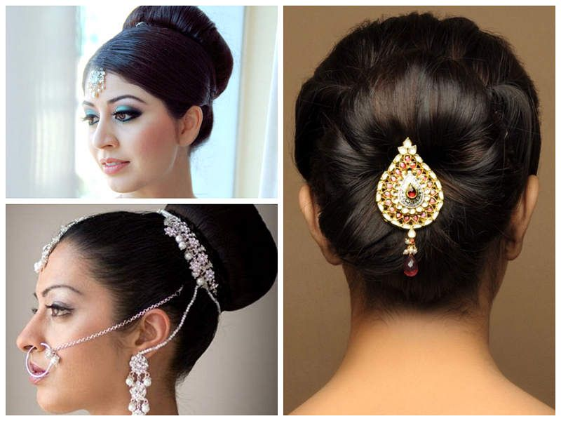 Tricks To Create Indian Wedding Hairstyles For Short Hair In Easy Ways Medium Hair Styles Short Hair Styles Easy Indian Wedding Hairstyles