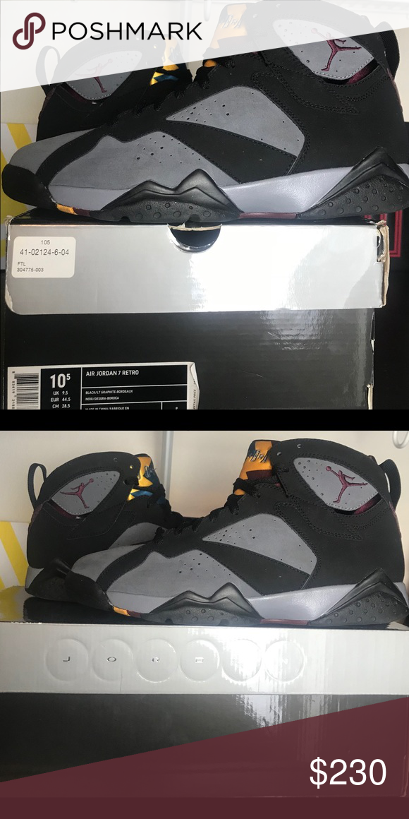"""best website f290e bab18 Jordan 7 """"Bordeaux"""" 2011 release This is a pair of Jordan 7 ..."""