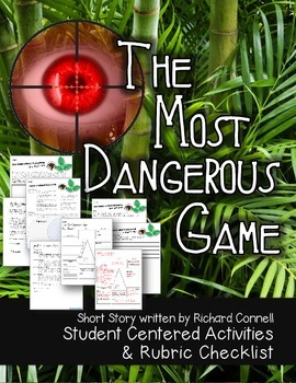 The most dangerous game activities and rubric checklist student themostdangerousgamestudentcenteredactivitiesand ccuart Image collections