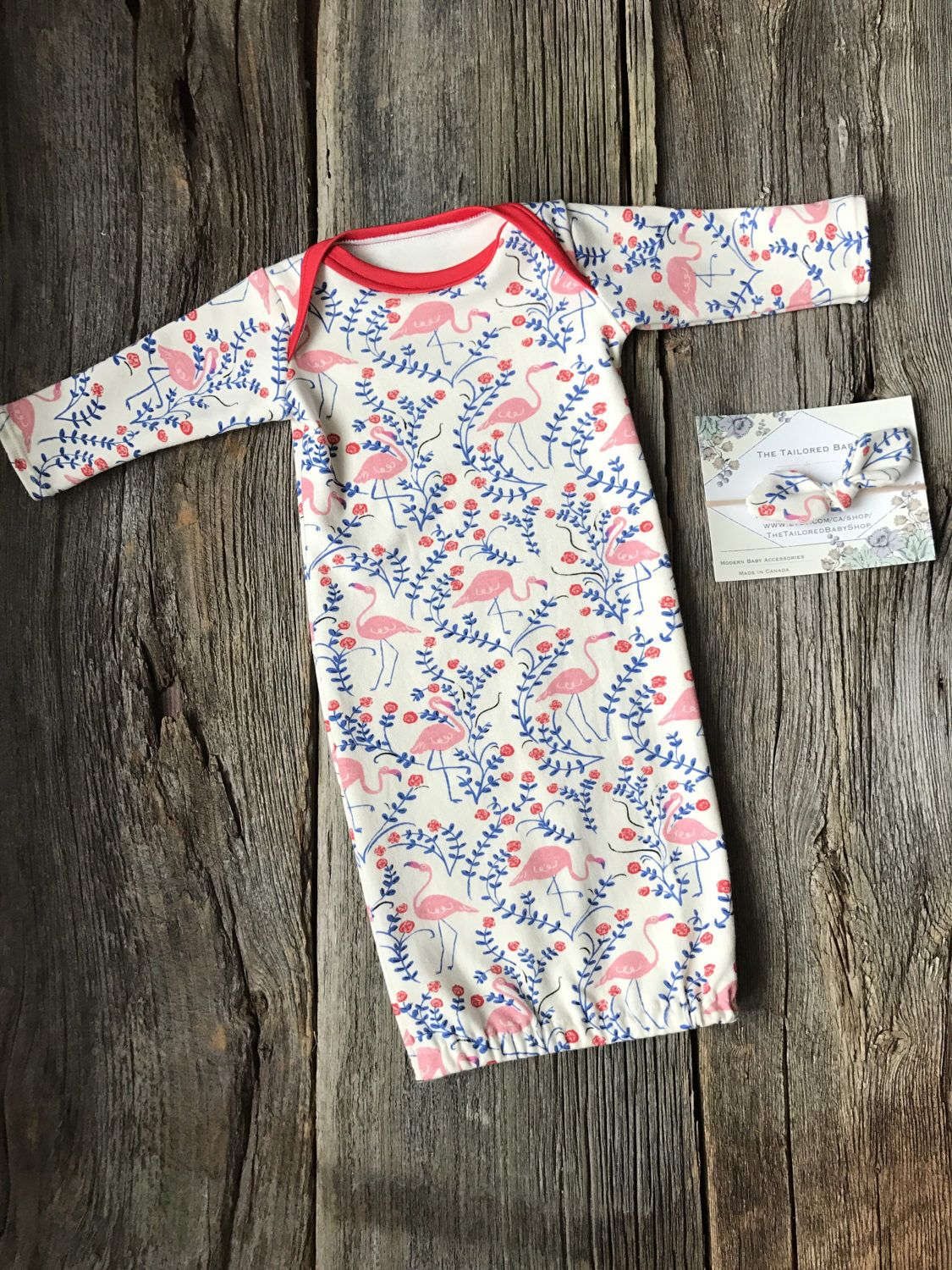 Organic Baby Gown, Baby Gown, Organic Newborn Gown, Baby Gown, Baby ...