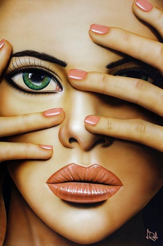 Scott Rohlfs Cover Girl Browse By Subject The Art Gallery Ruislip Manor Pop Art Airbrush Art Pop Illustration