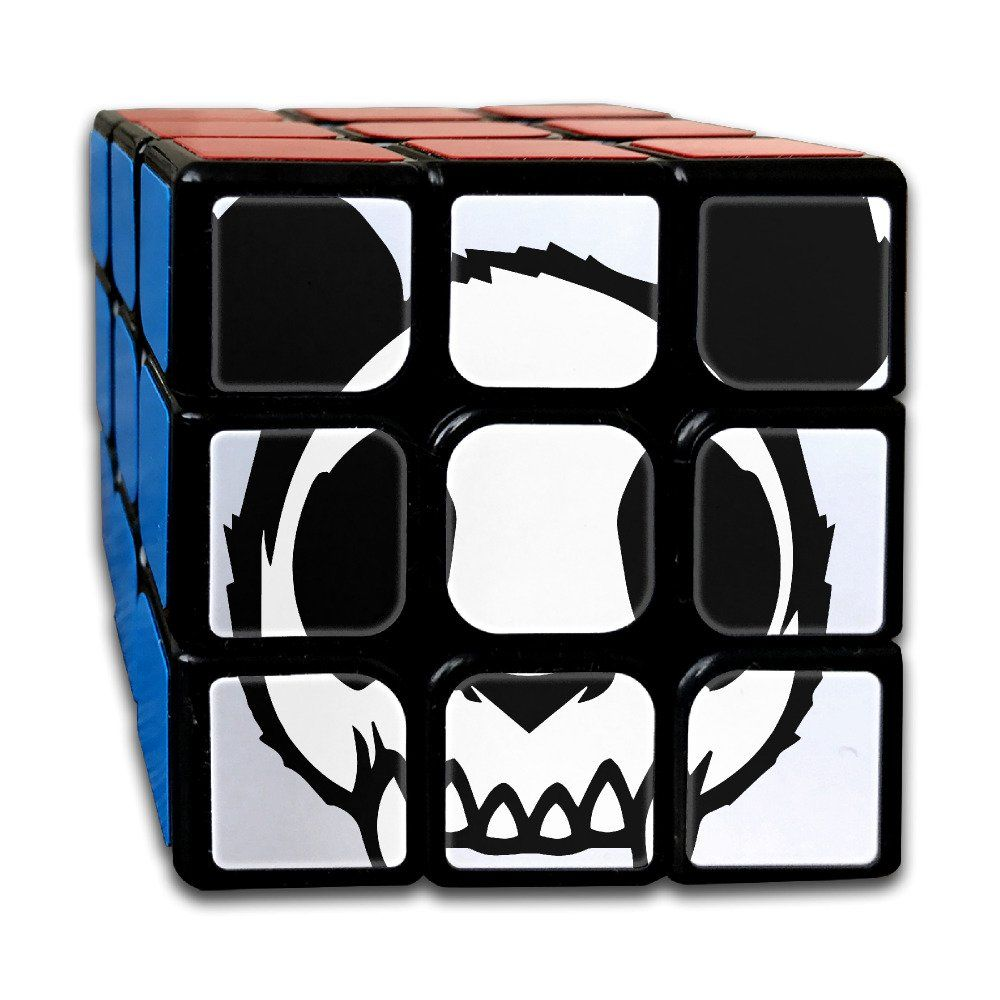 Zombie Panda 3x3 Smooth Speed Magic Cube Puzzles Toys Brain Training Game Easy Turning 56mm Rubiks Cube You Can Get Additional Rubiks Cube Cube Puzzle Zombie