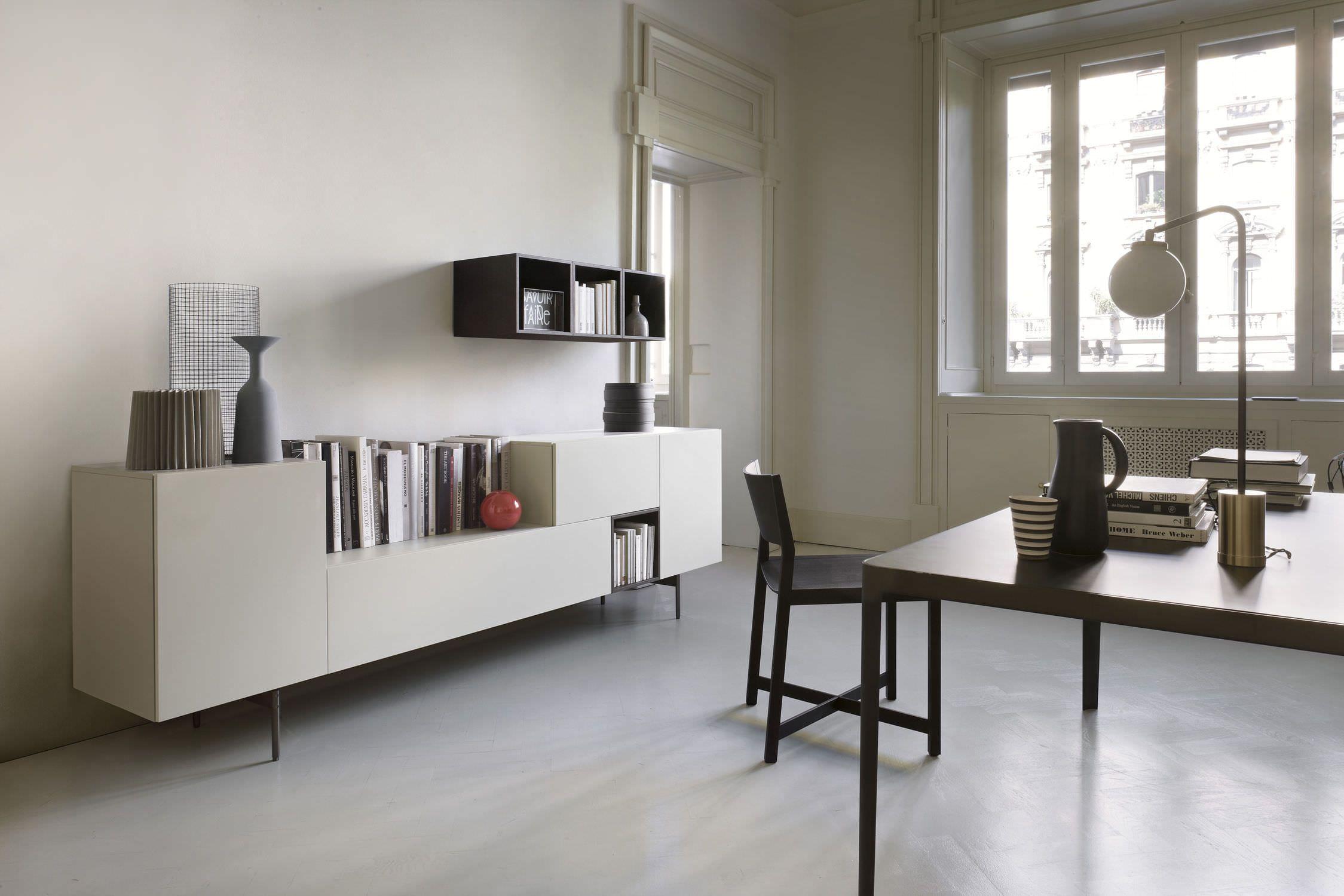Lema Mobili T030.Contemporary Living Room Wall Unit By Piero Lissoni T030