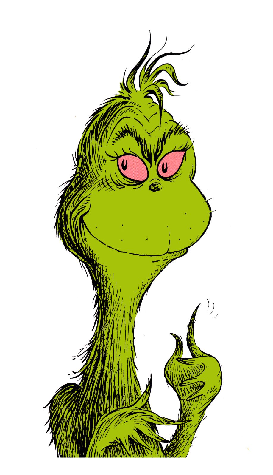 The Grinch Book Characters