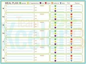 Piyo Meals And Recipes Exclusive Piyo Meal Plan Template Guide