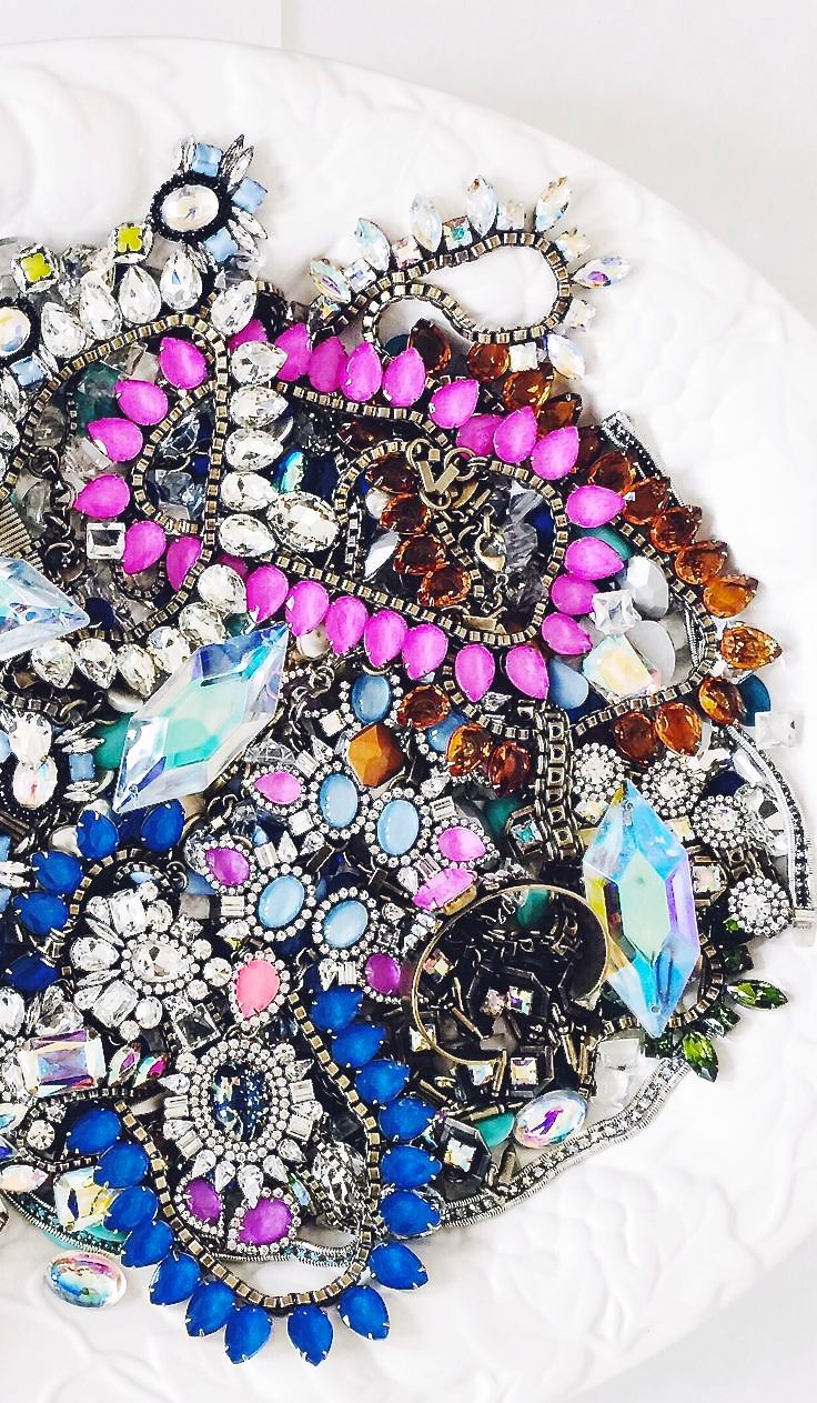 Image Via: Britta Nickel #Color #necklace #obsessed