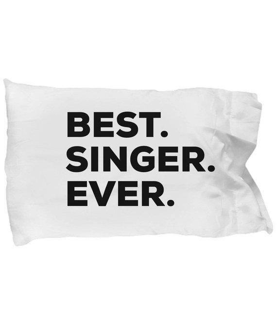 singer pillow case gifts for singer best singer ever singer pillowcase christmas present singe