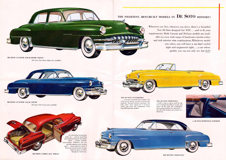1956 desoto firedome seville 4 door hardtop 1 of 10 - 1951 Desoto Foldout 08 09 10 11