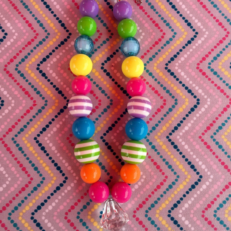 Chunky girls bubblegum necklace chunky girls girls