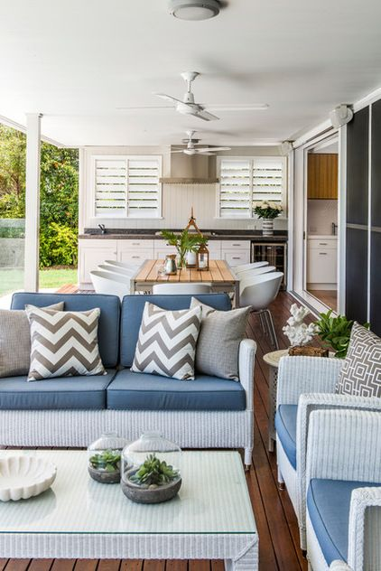 contemporary deck by highgate house don t you just love the outdoor kitchen outdoor rooms on outdoor kitchen queensland id=51090
