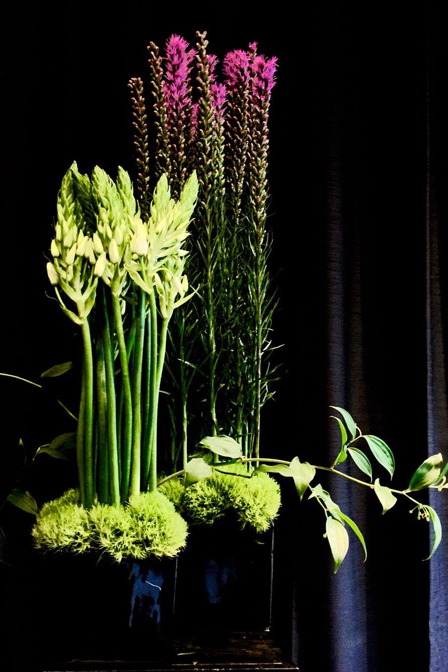 office reception flower