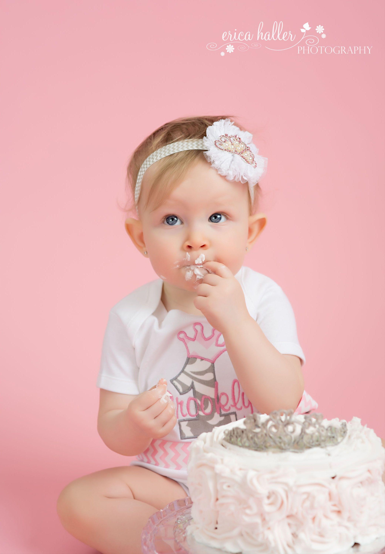 Pink And White Princess Cake