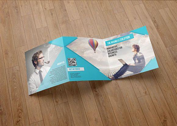 Trifold Business brochure-V76 Business brochure, Brochures and