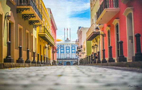 La Fortaleza and San Juan National Historic Site in Puerto Rico, United States