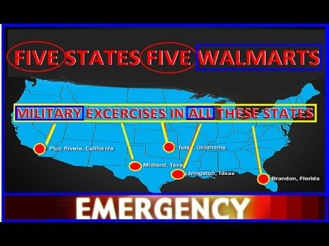 Closed Walmart S Are Military Distribution Centers What Is Going On Walmart Science Facts Cool Gifs