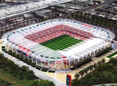La Football Club Mls Soccer In Dtla Los Angeles Football Club Mls Soccer Stadium