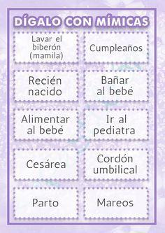 Resultado De Imagen Para Juegos Para Baby Shower Mixto Party Ideas
