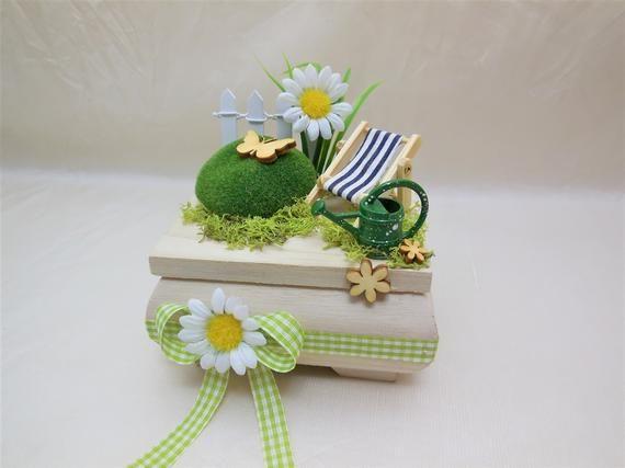 Garten Mini Holzbox Gutschein Garten Geldgeschenk Garten Ruhestand Gartenarbeit Gartenmobel Geburtstagsgeschenk Geschenkbox Rente Decorative Boxes Money Gift Decor