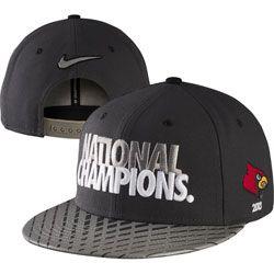 Louisville Cardinals Nike 2013 College Basketball National Champions Players Locker Room Snapback Adjustable Hat $29.99 http://www.fansedge.com/Louisville-Cardinals-Nike-2013-College-Basketball-National-Champions-Players-Locker-Room-Snapback-Adjustable-Hat-_2071462143_PD.html?social=pinterest_pfid53-11574