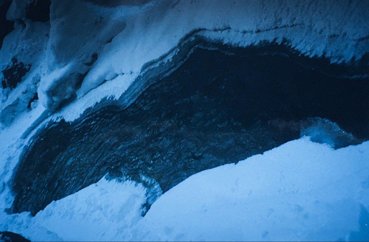Река подо льдом. Фото из архива блога shveda.ru