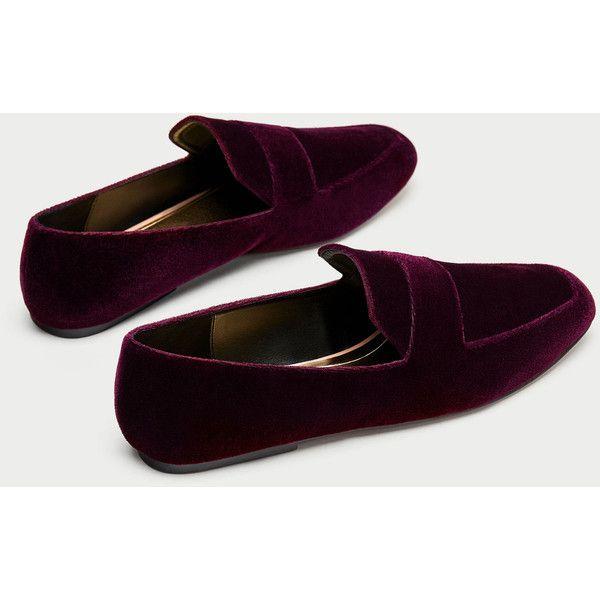 designer velvet loafers