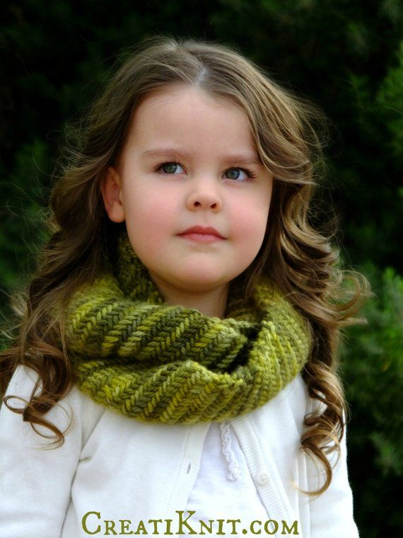 Knitting Pattern The Eowyn Infinity Scarf Baby Toddler Child