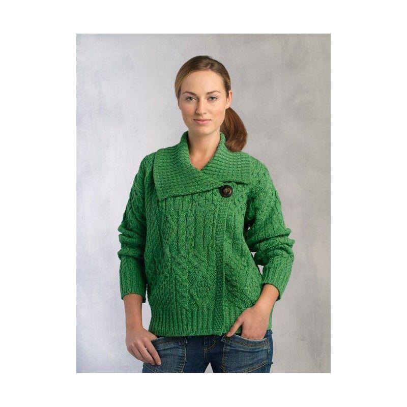 aran sweater 90.00
