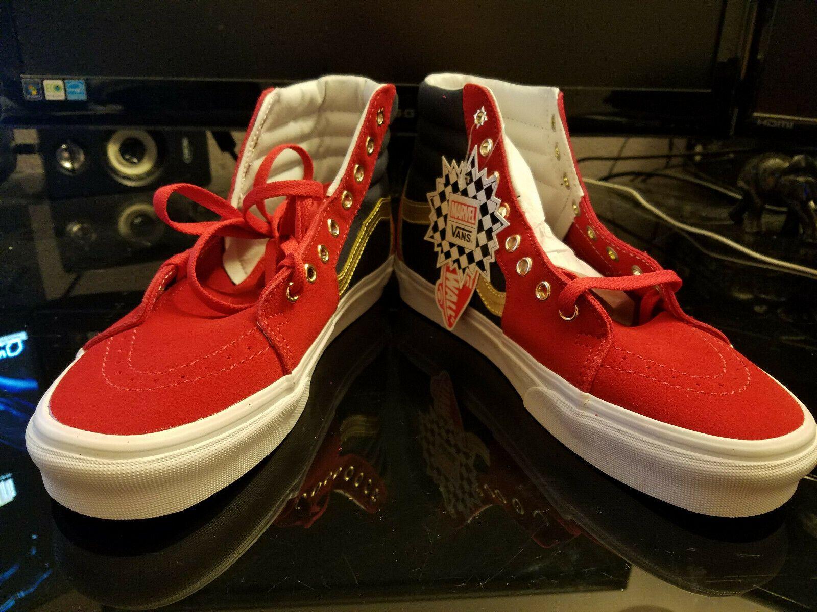 35081de07c3d65 Details about Vans Off The Wall Unisex X Marvel SK8-HI Shoes ...