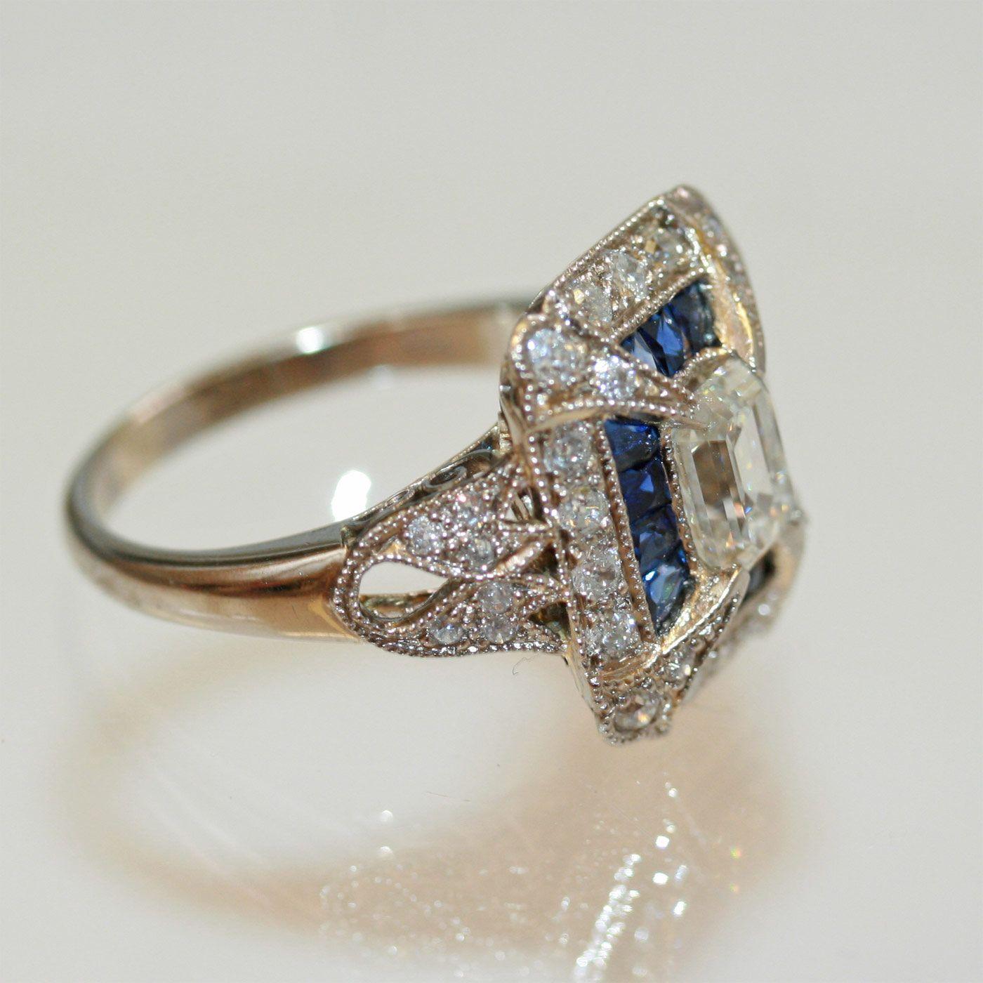 antique rings 1800's | Buy Antique sapphire ring, Sold Rings Sydney - KalmarAntiques