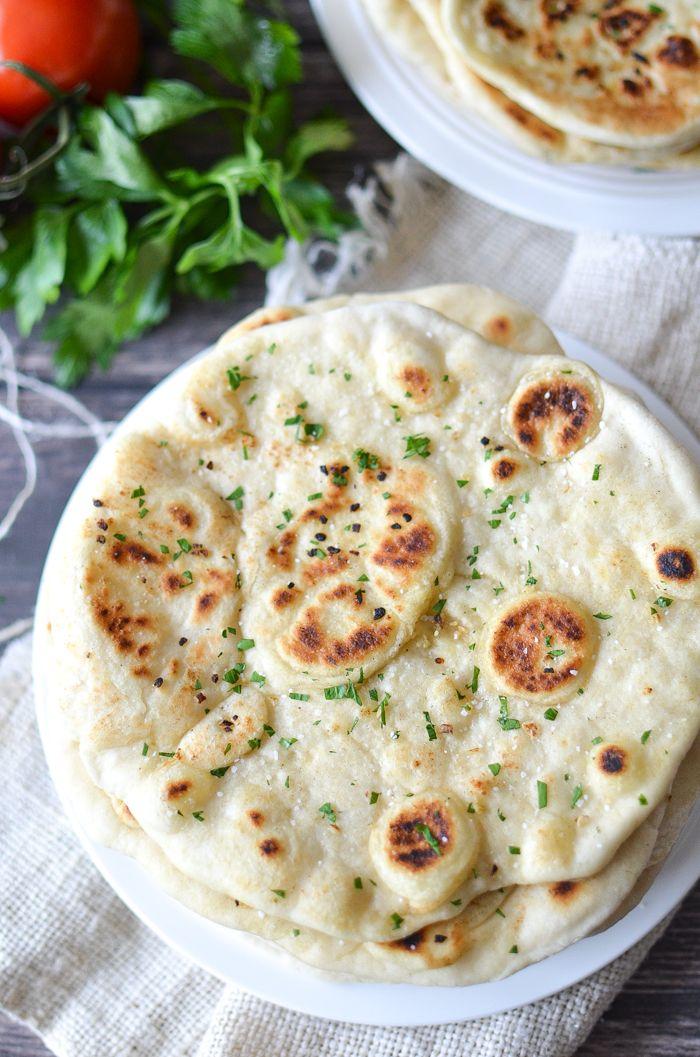 Garlic Vegan Naan Bread Recipe Dairy Free Bread Recipes With