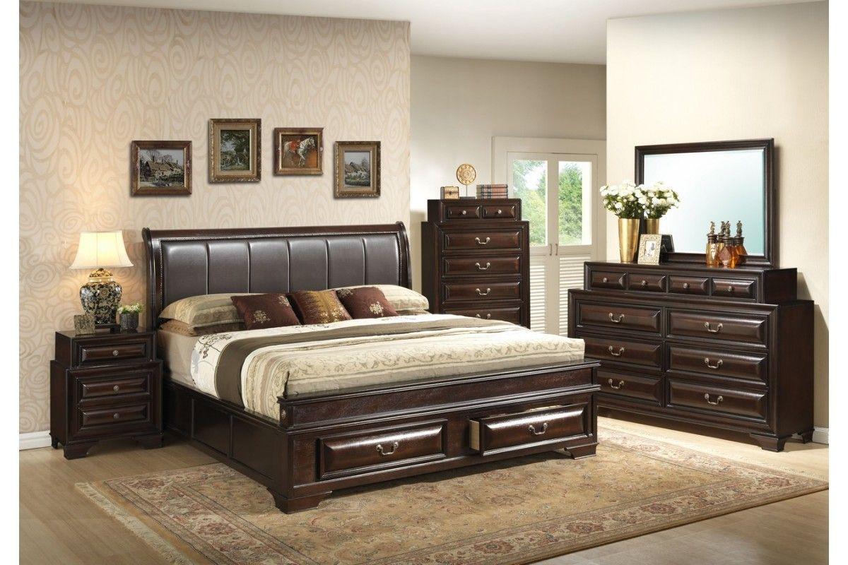 : King Size Bedroom Sets Cheap Stylish Modern Bedroom ...