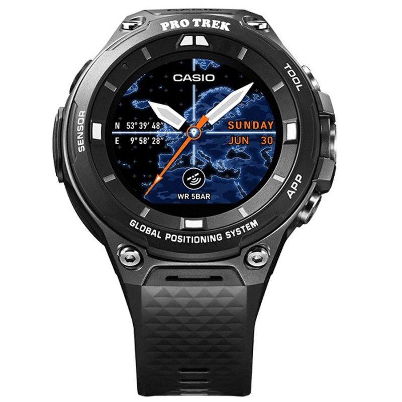 62472b7e0a56 Reloj Casio Pro Trek Smart Hombre WSD-F20-BKAAE. Relojes SmartWatch