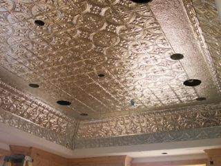 Decorative Tin Ceiling Tiles Tin Ceilingsthe Tinman  Chelsea Decorative Metal Company
